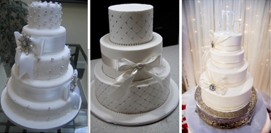 Here Are Some Of The Wedding Cakes That We Can Design For You